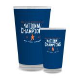Full Color Glass 17oz-2018 NDA Jazz National Champions