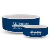 Ceramic Dog Bowl-McLennan Community College