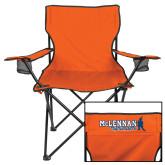Deluxe Orange Captains Chair-McLennan Highlanders