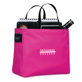 Tropical Pink Essential Tote-McLennan Community College