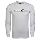 White Long Sleeve T Shirt-Eastern Shore