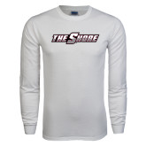 White Long Sleeve T Shirt-The Shore