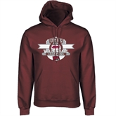 Champion Maroon Fleece Hood-2011 Volleyball Champions