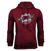 Champion Maroon Fleece Hood-2012 Volleyball Champions MEAC