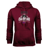 Champion Maroon Fleece Hood-MEAC Bowling Champions Multi-year