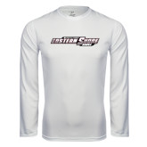 Syntrel Performance White Longsleeve Shirt-Maryland Eastern Shore Hawks