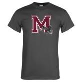 Charcoal T Shirt-M w/ Hawk
