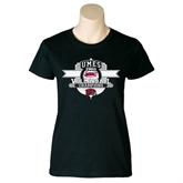Ladies Black T Shirt-2011 Volleyball Champions