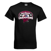 Black T Shirt-2013 Bowling National Champions