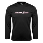Performance Black Longsleeve Shirt-Eastern Shore
