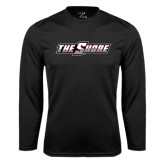 Syntrel Performance Black Longsleeve Shirt-The Shore