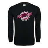 Black Long Sleeve TShirt-2012 Volleyball Champions MEAC