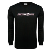 Black Long Sleeve TShirt-Eastern Shore