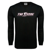 Black Long Sleeve TShirt-The Shore