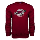 Champion Maroon Fleece Crew-2012 Volleyball Champions MEAC