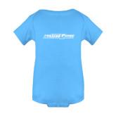 Light Blue Infant Onesie-Primary Mark