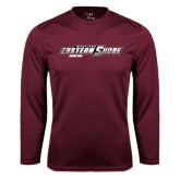Syntrel Performance Maroon Longsleeve Shirt-Bowling