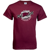 Maroon T Shirt-2012 Volleyball Champions MEAC