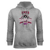 Grey Fleece Hood-MEAC Bowling Champions Multi-year