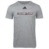 Adidas Sport Grey Logo T Shirt-Eastern Shore