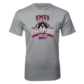 Sport Grey T Shirt-MEAC Bowling Champions Multi-year