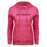 Fuchsia Fleece Hoodie-Eastern Shore Glitter