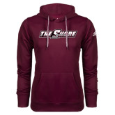 Adidas Climawarm Maroon Team Issue Hoodie-The Shore