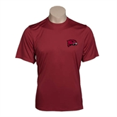 Performance Maroon Tee-