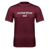 Performance Maroon Tee-Dad