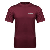 Performance Maroon Tee-Eastern Shore