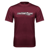 Performance Maroon Tee-Maryland Eastern Shore Hawks
