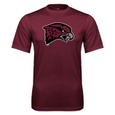 Performance Maroon Tee-Hawk Head