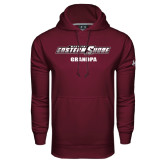 Under Armour Maroon Performance Sweats Team Hood-Grandpa