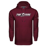 Under Armour Maroon Performance Sweats Team Hood-The Shore