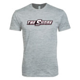 Next Level SoftStyle Heather Grey T Shirt-The Shore