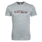 Next Level SoftStyle Heather Grey T Shirt-Maryland Eastern Shore Hawks