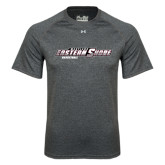 Under Armour Carbon Heather Tech Tee-Basketball