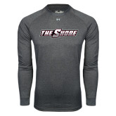 Under Armour Carbon Heather Long Sleeve Tech Tee-The Shore