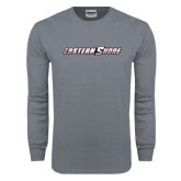 Charcoal Long Sleeve T Shirt-Eastern Shore