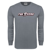 Charcoal Long Sleeve T Shirt-The Shore