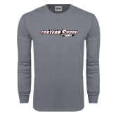 Charcoal Long Sleeve T Shirt-Maryland Eastern Shore Hawks