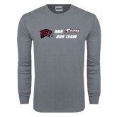 Charcoal Long Sleeve T Shirt-Our Team Our Shore