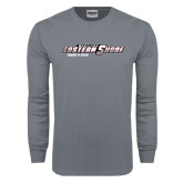 Charcoal Long Sleeve T Shirt-Track and Field