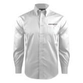 Red House White Dobby Long Sleeve Shirt-Eastern Shore