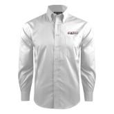 Red House White Dobby Long Sleeve Shirt-The Shore