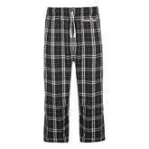 Black/Grey Flannel Pajama Pant-Eastern Shore
