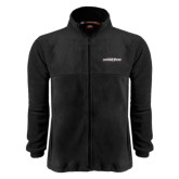 Fleece Full Zip Black Jacket-Primary Mark