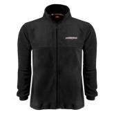 Fleece Full Zip Black Jacket-Primary Mark