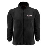 Fleece Full Zip Black Jacket-The Shore