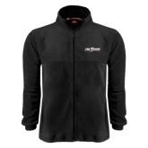 Fleece Full Zip Black Jacket-The Shore